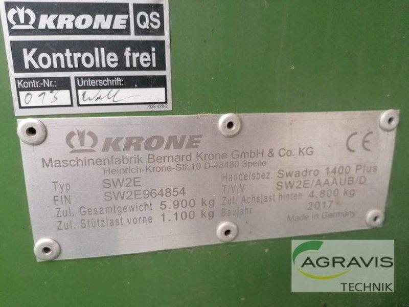 Schwader a típus Krone SWADRO 1400 PLUS, Gebrauchtmaschine ekkor: Gyhum-Nartum (Kép 7)