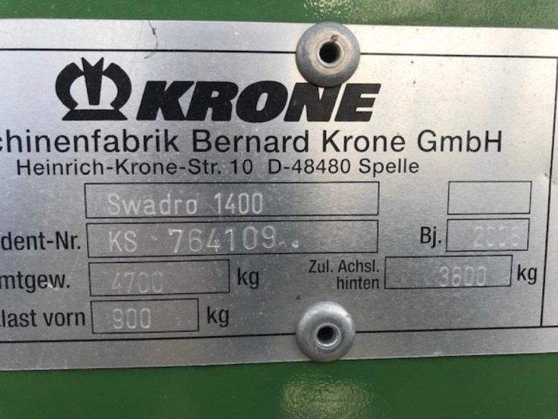 Schwader a típus Krone Swadro 1400, Gebrauchtmaschine ekkor: Skærbæk (Kép 3)