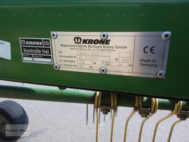 Schwader des Typs Krone Swadro 710/26 T, Gebrauchtmaschine in Schwabmünchen (Bild 14)