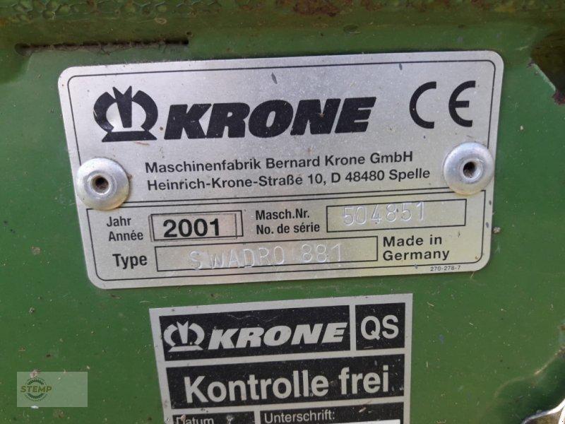Schwader des Typs Krone Swadro 881, Gebrauchtmaschine in Esternberg (Bild 6)