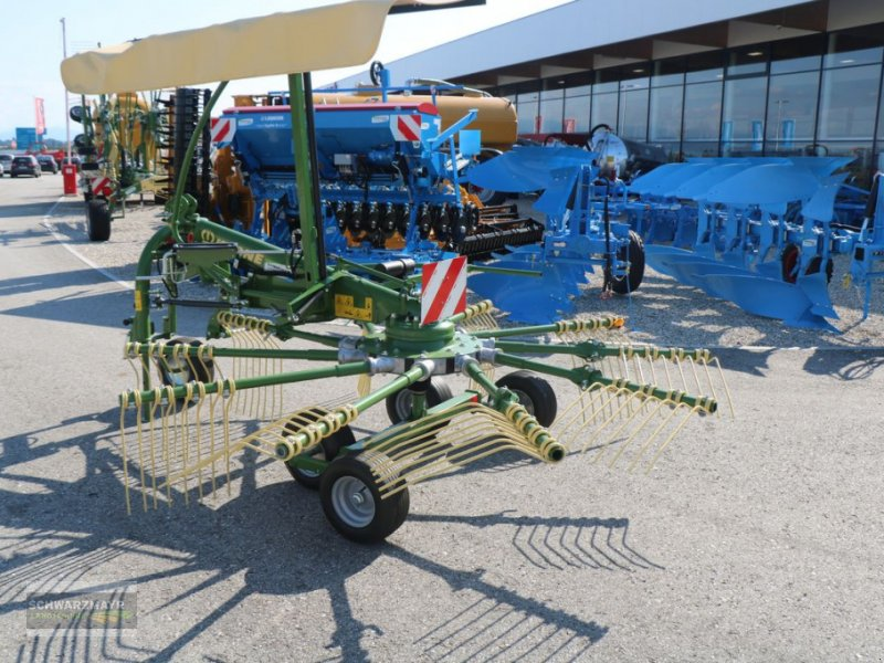 Schwader del tipo Krone Swadro S 380 Alpin, Vorführmaschine en Gampern (Imagen 4)