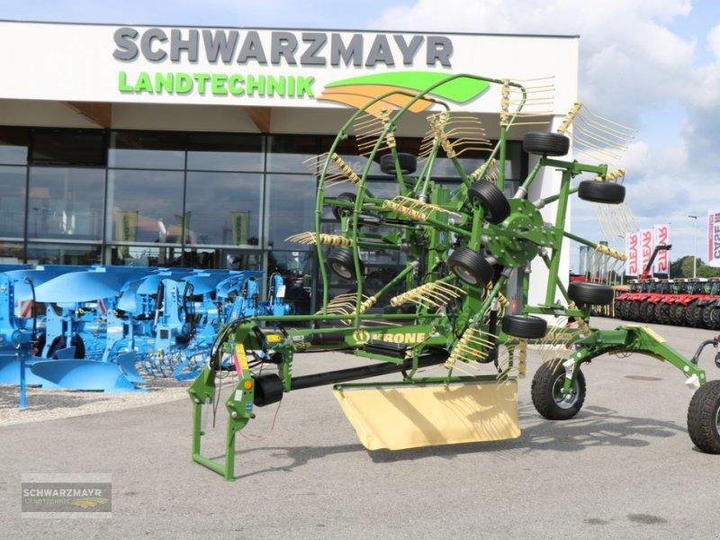 Schwader des Typs Krone Swadro TC 640, Vorführmaschine in Gampern (Bild 1)