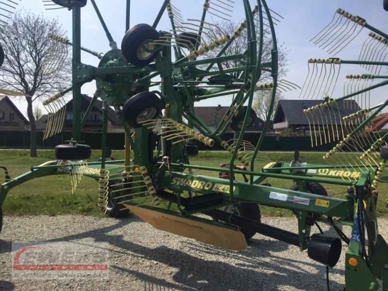 Schwader des Typs Krone Swadro TC 680, Neumaschine in Salzkotten (Bild 1)