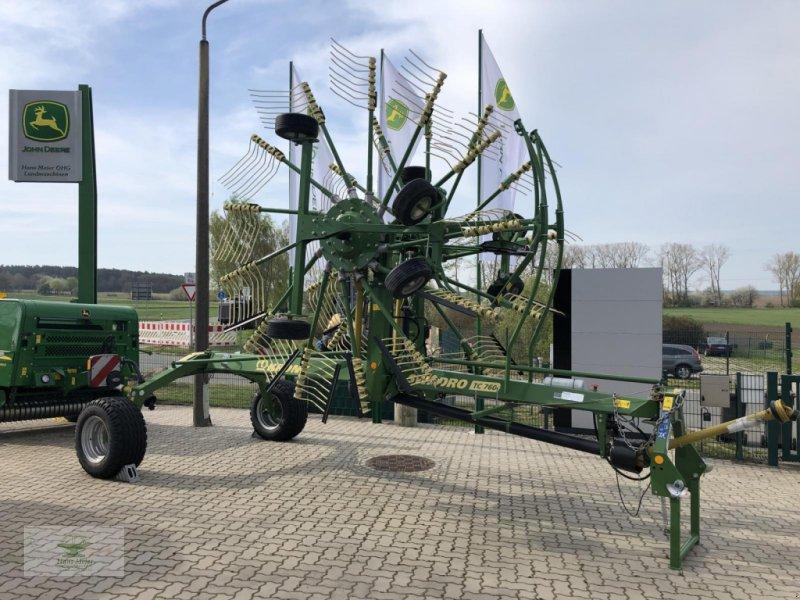Schwader типа Krone Swadro TC 760  sofort verfügbar, Neumaschine в Rubenow OT Groß Ernsthof (Фотография 1)