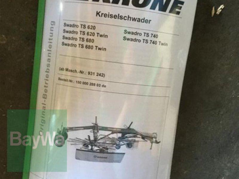 Schwader des Typs Krone SWADRO TS 680, Gebrauchtmaschine in Neunburg v.Wald (Bild 6)
