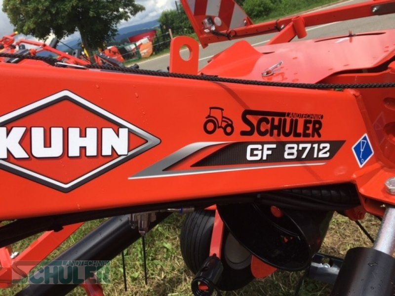 Schwader типа Kuhn GF 8712, Neumaschine в St. Märgen (Фотография 6)