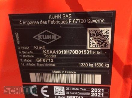 Schwader типа Kuhn GF 8712, Neumaschine в St. Märgen (Фотография 11)