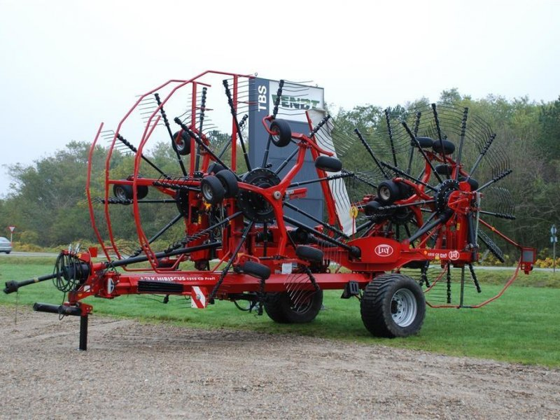 Schwader of the type Lely Hibiscus 1515 CD Profi, Gebrauchtmaschine in Grindsted (Picture 1)