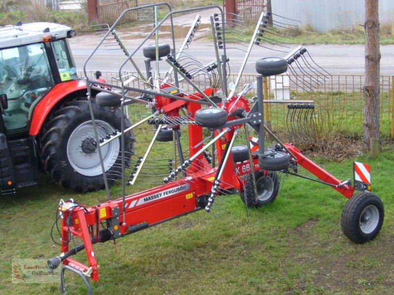 Schwader des Typs Massey Ferguson RK 660 (Fella), Neumaschine in Loitsche (Bild 2)
