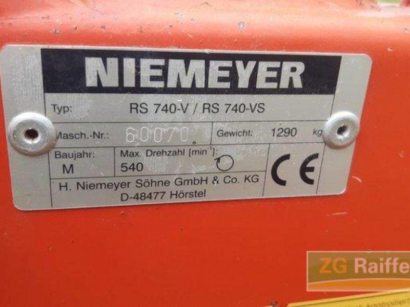 Schwader des Typs Niemeyer RS 740 V, Gebrauchtmaschine in Appenweier (Bild 2)