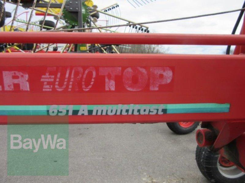 Schwader des Typs Pöttinger Eurotop 651 A Multitast, Gebrauchtmaschine in Erbach (Bild 4)