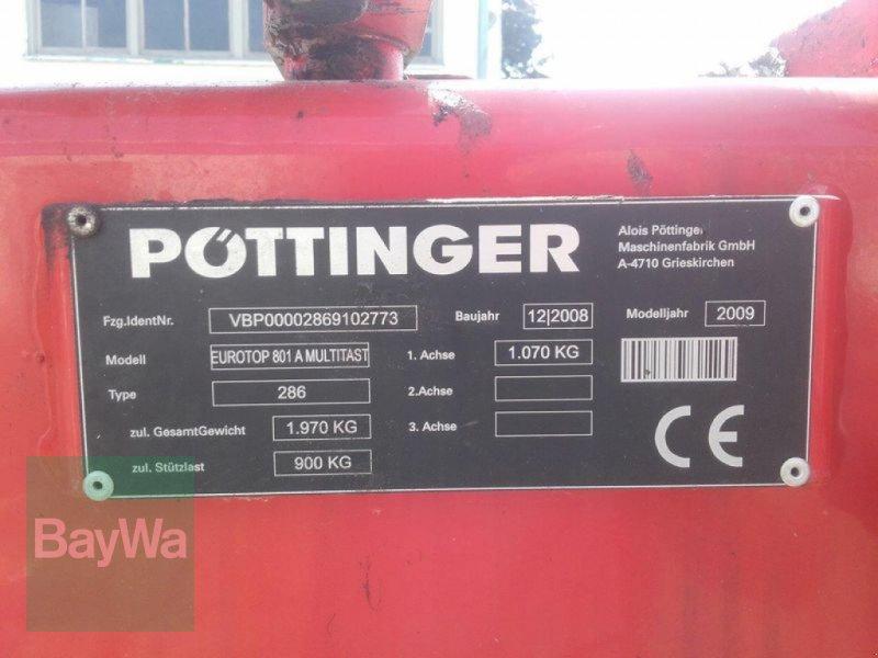 Schwader του τύπου Pöttinger EUROTOP 801 A MULTITAST, Gebrauchtmaschine σε Untergriesbach (Φωτογραφία 7)
