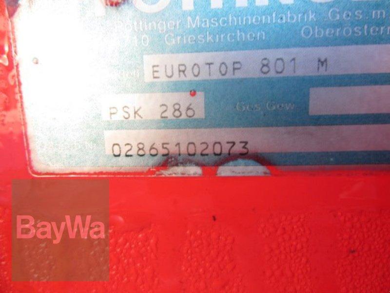 Schwader des Typs Pöttinger Eurotop 801 A Multitast, Gebrauchtmaschine in Schönau b.Tuntenhaus (Bild 5)