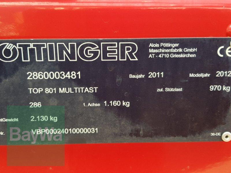 Schwader du type Pöttinger Eurotop 801 A Multitast, Gebrauchtmaschine en Bamberg (Photo 7)