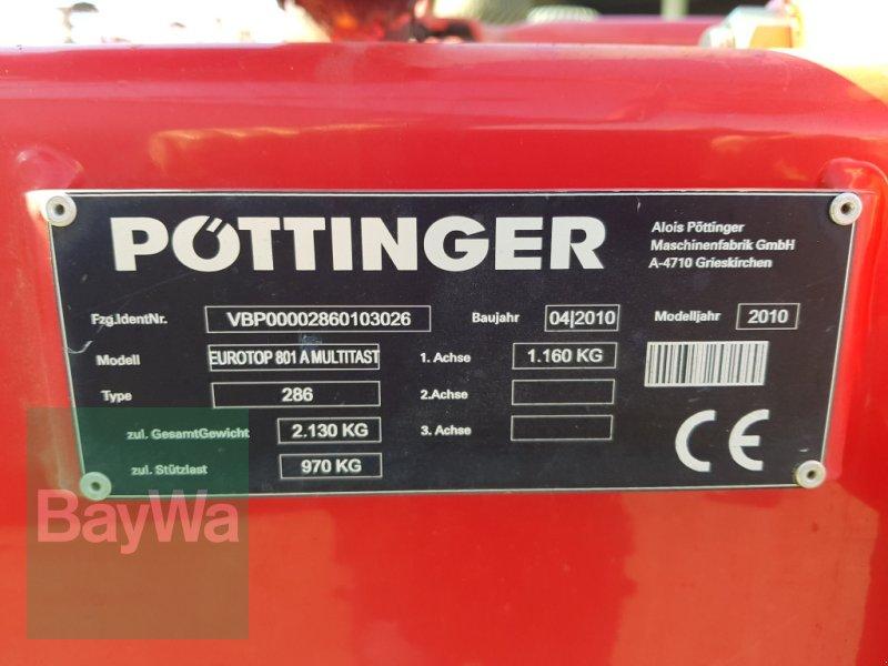 Schwader des Typs Pöttinger Eurotop 801 A, Gebrauchtmaschine in Bamberg (Bild 5)