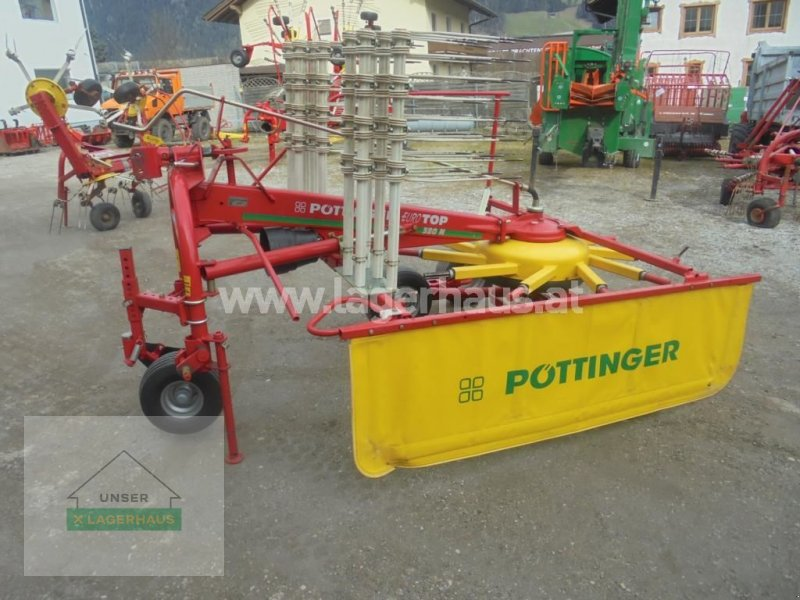 Schwader a típus Pöttinger TOP 380, Gebrauchtmaschine ekkor: Schlitters (Kép 1)