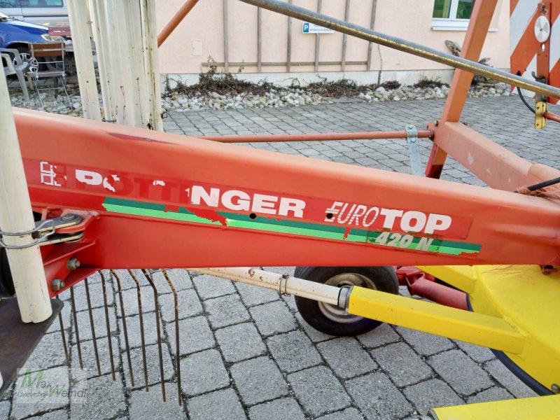 Schwader des Typs Pöttinger Top 420, Gebrauchtmaschine in Markt Schwaben (Bild 3)