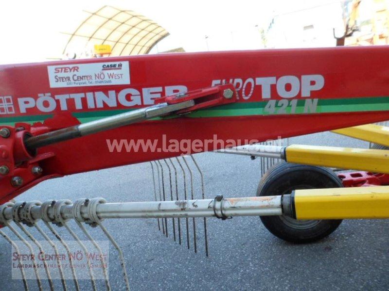 Schwader des Typs Pöttinger TOP 421, Gebrauchtmaschine in Purgstall (Bild 5)