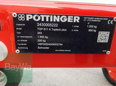 Schwader des Typs Pöttinger TOP 611 A TOPTECH PLUS, Gebrauchtmaschine in Bamberg (Bild 10)
