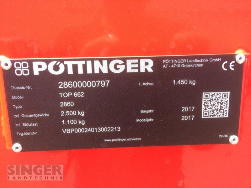 Schwader a típus Pöttinger Top 662, Gebrauchtmaschine ekkor: Ebenhofen (Kép 7)