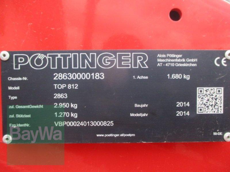 Schwader des Typs Pöttinger Top 812, Gebrauchtmaschine in Schönau b.Tuntenhausen (Bild 4)