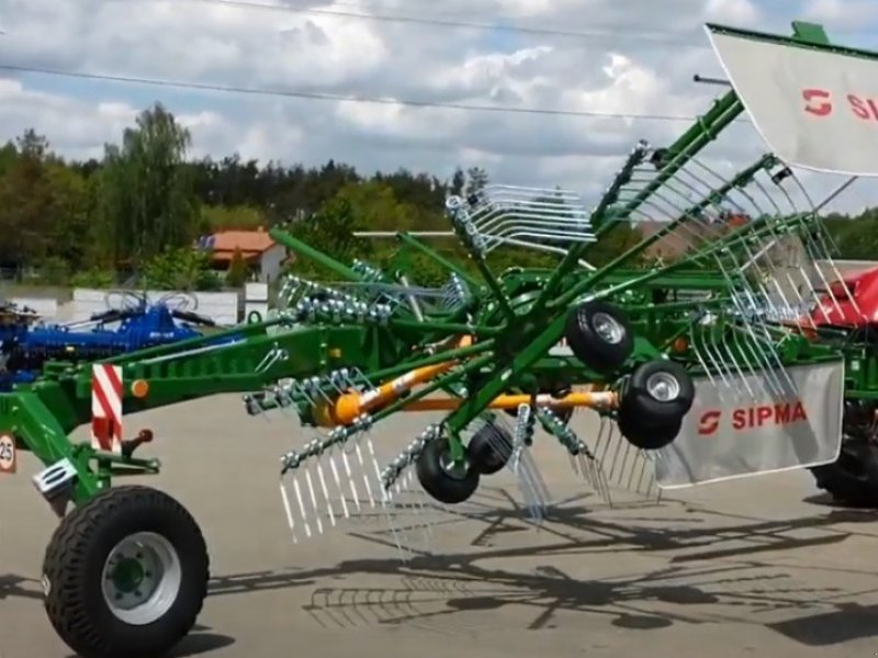 Schwader typu Sipma ZK 720 SPINNER SIPMA, Neumaschine w Siekierczyn (Zdjęcie 1)