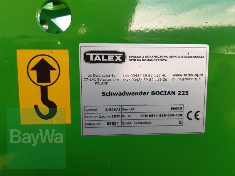 Schwader des Typs Talex Schwadwender Bocian 225, Gebrauchtmaschine in Ehingen (Bild 4)