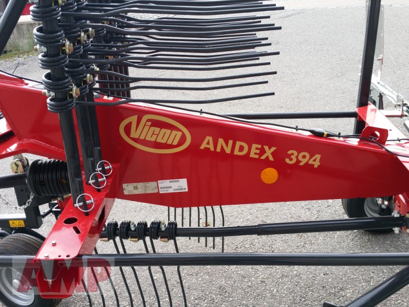 Schwader des Typs Vicon Andex 394, Neumaschine in Teising (Bild 7)