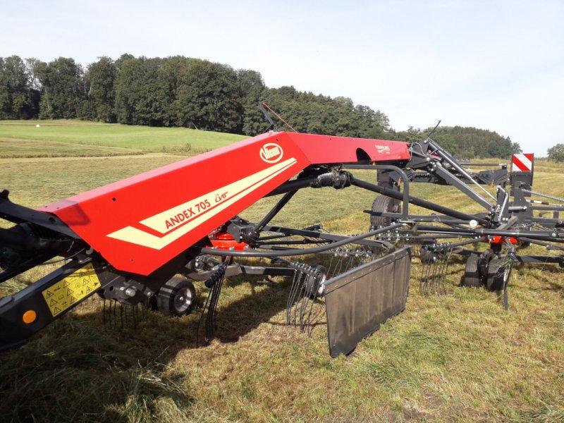 Schwader des Typs Vicon Andex 705 Evo, Gebrauchtmaschine in Mindelheim (Bild 1)