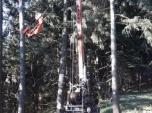 Mayr-Melnhof Wanderfalke Kran sa kabelom