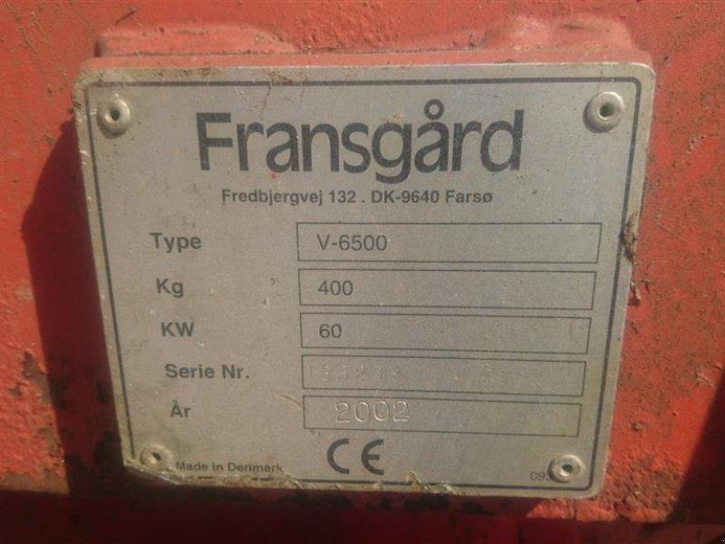 Seilwinde des Typs Fransgard V6500 med Radiostyring, Gebrauchtmaschine in Fredericia (Bild 4)