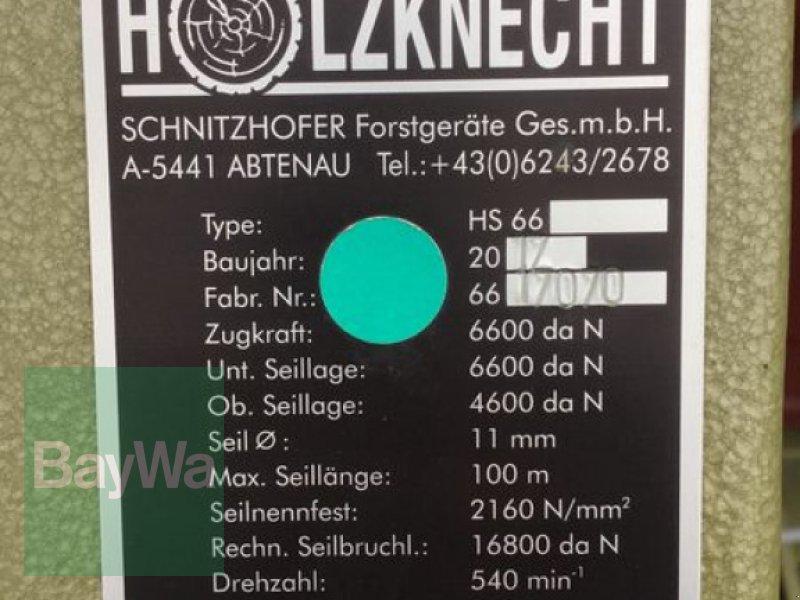 Seilwinde des Typs Holzknecht HS 66, Gebrauchtmaschine in Obertraubling (Bild 10)