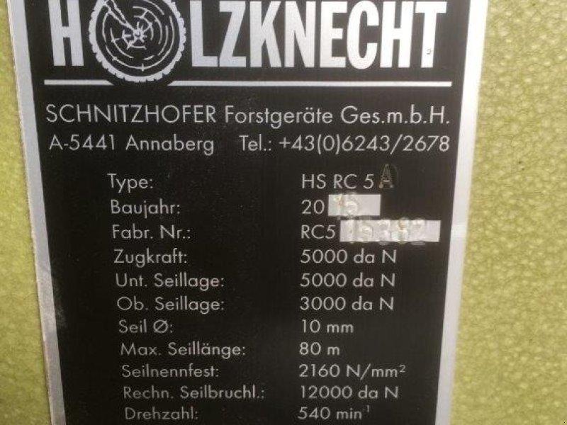 Seilwinde des Typs Holzknecht HS RC 5, Gebrauchtmaschine in Rossbach-Wald (Bild 5)