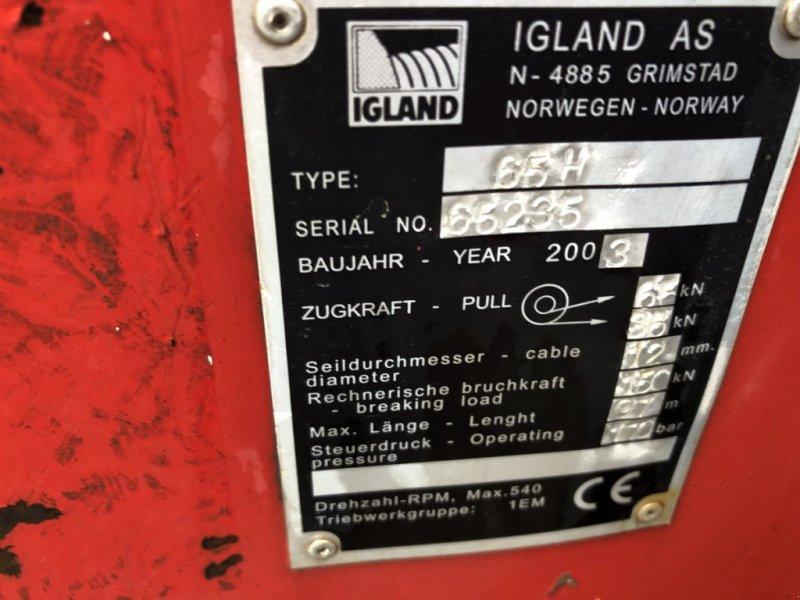 Seilwinde типа Igland 65 H, Gebrauchtmaschine в Villach (Фотография 6)