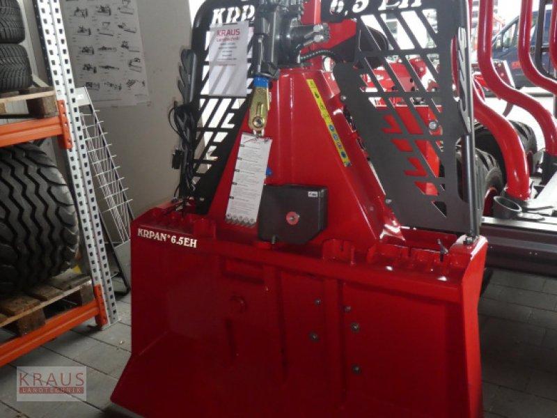 Seilwinde des Typs Krpan 6,5 EH, Neumaschine in Geiersthal (Bild 1)