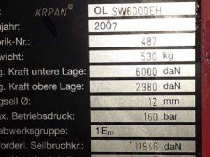 Seilwinde des Typs Krpan SW 6000 EH, Gebrauchtmaschine in MARLENHEIM (Bild 2)