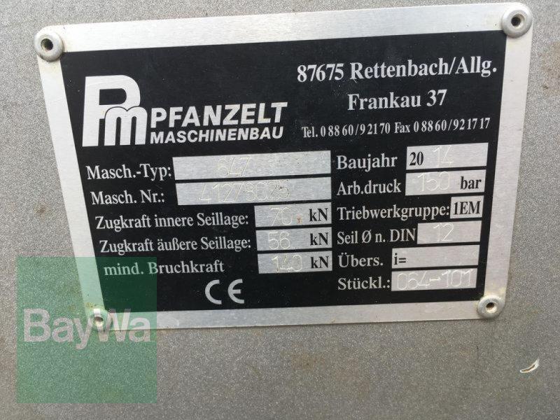 Seilwinde des Typs Pfanzelt 647 Profi Eco, Gebrauchtmaschine in Obertraubling (Bild 10)