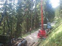 Savall 1500 Kurzstreckenseilbahn Treuil à câble