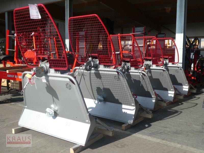 Seilwinde des Typs Schlang & Reichart DW 61, DW 711, DW 61XL, Neumaschine in Geiersthal (Bild 1)