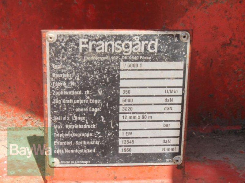 Seilwinde des Typs Sonstige FRANSGARD V 6000 S, Gebrauchtmaschine in Straubing (Bild 5)