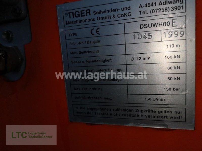 Seilwinde типа Tiger SEILWINDE DSUWH80E, Gebrauchtmaschine в Schärding (Фотография 13)