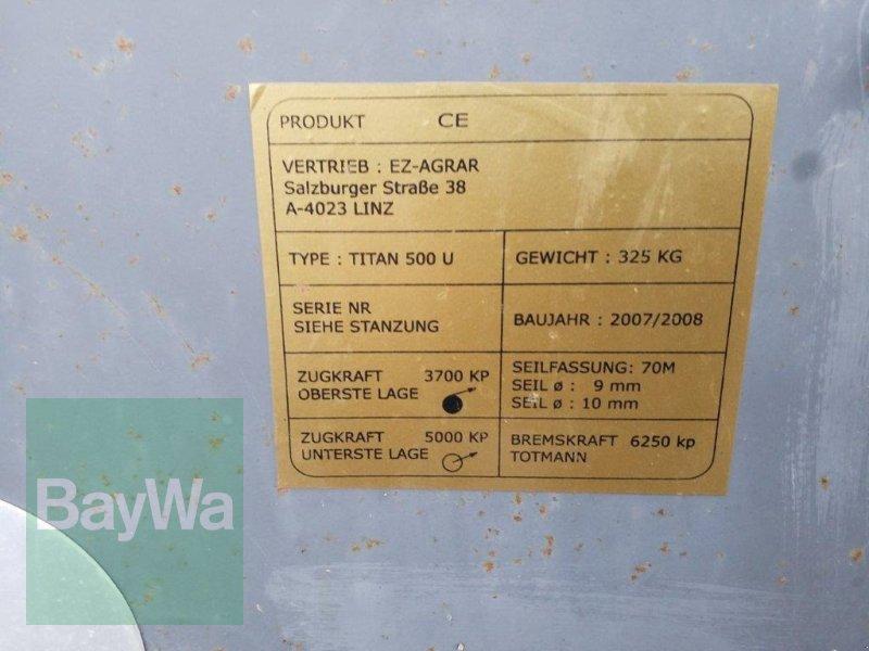 Seilwinde des Typs Titan 500 U, Gebrauchtmaschine in Bamberg (Bild 7)