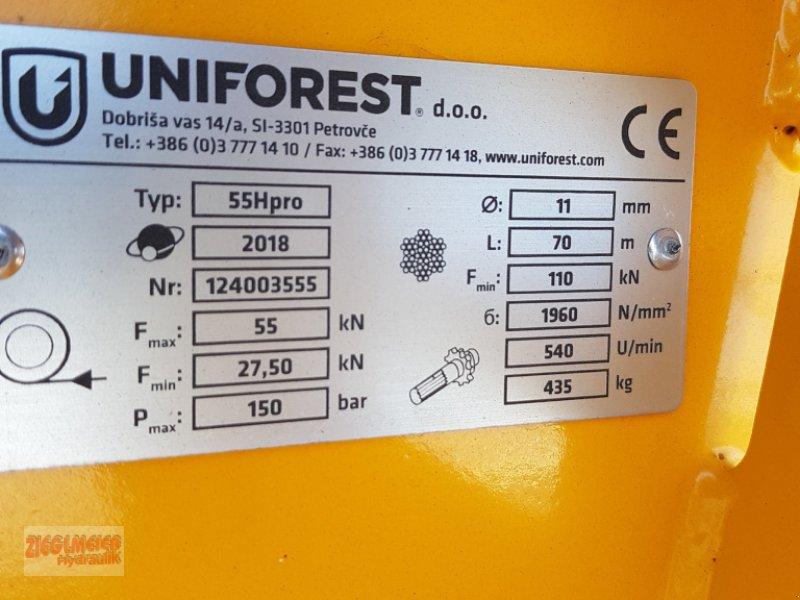 Seilwinde des Typs Uniforest 55 H Pro, Neumaschine in Rottenburg (Bild 6)