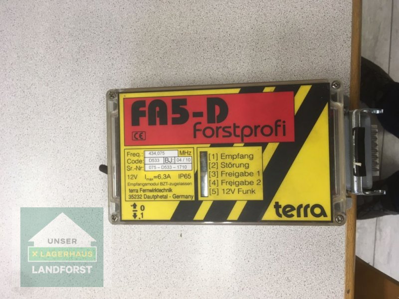 Seilwinde типа Uniforest Terra FA 5-D, Neumaschine в Kapfenberg (Фотография 1)