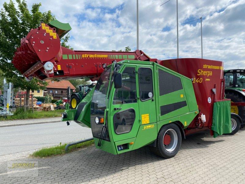Selbstfahrer Futtermischwagen typu Strautmann Sherpa 140, Neumaschine v Söchtenau (Obrázok 1)