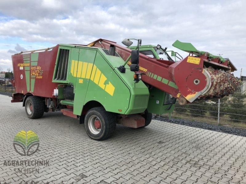 Selbstfahrer Futtermischwagen typu Strautmann Verti-Mix 1402 Double SF, Vorführmaschine v Ebersbach (Obrázok 11)