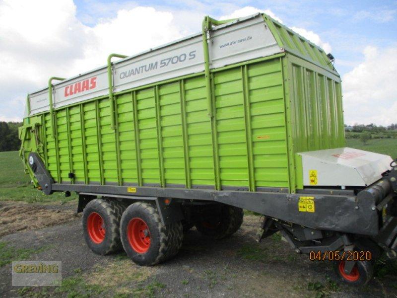 Silierwagen tip CLAAS Quantum 5700 S, Gebrauchtmaschine in Werne (Poză 3)