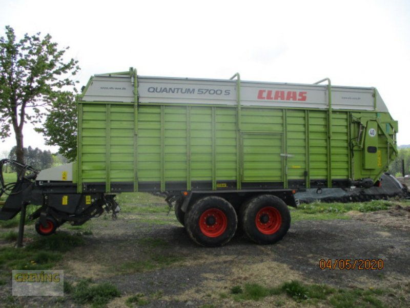 Silierwagen tip CLAAS Quantum 5700 S, Gebrauchtmaschine in Werne (Poză 1)