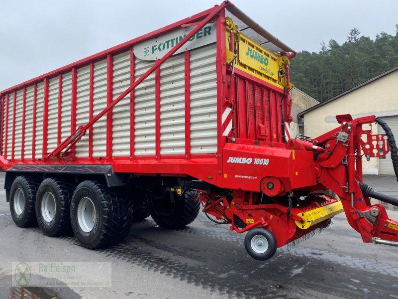 Silierwagen des Typs Pöttinger Jumbo 10010 Combiline, Gebrauchtmaschine in Waldsassen (Bild 1)