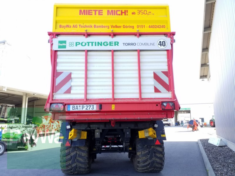 Silierwagen des Typs Pöttinger Torro 7010 L Combiline *Miete ab 350€/Tag*, Gebrauchtmaschine in Bamberg (Bild 4)